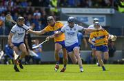 12 May 2019; Austin Gleeson of Waterford in action against Shane Golden of Clare during the Munster GAA Hurling Senior Championship Round 1 match between Waterford and Clare at Walsh Park in Waterford. Photo by Daire Brennan/Sportsfile