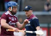 12 May 2019; Galway manager Micheál Donoghue before the Leinster GAA Hurling Senior Championship Round 1 match between Galway and Carlow at Pearse Stadium in Galway. Photo by Piaras Ó Mídheach/Sportsfile