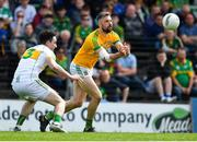 12 May 2019; Michael Newman of Meath in action against Eoin Rigney of Offaly during the Leinster GAA Football Senior Championship Round 1 match between Meath and Offaly at Páirc Tailteann, Navan in Meath. Photo by Brendan Moran/Sportsfile