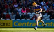 12 May 2019; Séamus Callanan of Tipperary shoots to score his side's first goal during the Munster GAA Hurling Senior Championship Round 1 match between Cork and Tipperary at Pairc Ui Chaoimh in Cork. Photo by Diarmuid Greene/Sportsfile