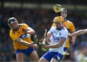 12 May 2019; Peter Hogan of Waterford in action against Cathal Malone of Clare during the Munster GAA Hurling Senior Championship Round 1 match between Waterford and Clare  at Walsh Park in Waterford. Photo by Daire Brennan/Sportsfile