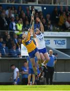 12 May 2019; Austin Gleeson of Waterford in action against David Fitzgerald of Clare during the Munster GAA Hurling Senior Championship Round 1 match between Waterford and Clare at Walsh Park in Waterford. Photo by Daire Brennan/Sportsfile