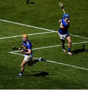 12 May 2019; Séamus Callanan of Tipperary celebrates after scoring his side's first goal of the game during the Munster GAA Hurling Senior Championship Round 1 match between Cork and Tipperary at Pairc Ui Chaoimh in Cork. Photo by David Fitzgerald/Sportsfile
