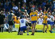 12 May 2019; David Fitzgerald of Clare consoles Austin Gleeson of Waterford after the Munster GAA Hurling Senior Championship Round 1 match between Waterford and Clare at Walsh Park in Waterford.  Photo by Daire Brennan/Sportsfile