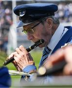 12 May 2019; John Holohan, a member of the Thomas Francis Meagher Fife and Drum Band, plays a B Flat flute before the Munster GAA Hurling Senior Championship Round 1 match between Waterford and Clare at Walsh Park in Waterford. Photo by Ray McManus/Sportsfile