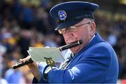 12 May 2019; John Flynn, a member of the Thomas Francis Meagher Fife and Drum Band, plays an F Flute before the Munster GAA Hurling Senior Championship Round 1 match between Waterford and Clare at Walsh Park in Waterford. Photo by Ray McManus/Sportsfile