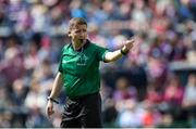 12 May 2019; Referee Colm Lyons during the Leinster GAA Hurling Senior Championship Round 1 match between Galway and Carlow at Pearse Stadium in Galway. Photo by Piaras Ó Mídheach/Sportsfile