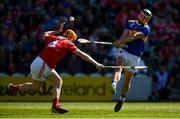 12 May 2019; John O'Dwyer of Tipperary in action against Niall O' Leary of Cork during the Munster GAA Hurling Senior Championship Round 1 match between Cork and Tipperary at Pairc Ui Chaoimh in Cork. Photo by Diarmuid Greene/Sportsfile