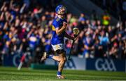 12 May 2019; John McGrath of Tipperary celebrates after scoring his side's second goal during the Munster GAA Hurling Senior Championship Round 1 match between Cork and Tipperary at Pairc Ui Chaoimh in Cork.   Photo by David Fitzgerald/Sportsfile