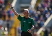 12 May 2019; Referee Sean Cleere during the Munster GAA Hurling Senior Championship Round 1 match between Cork and Tipperary at Pairc Ui Chaoimh in Cork. Photo by Diarmuid Greene/Sportsfile