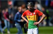 12 May 2019; Ted Joyce of Carlow after the Leinster GAA Hurling Senior Championship Round 1 match between Galway and Carlow at Pearse Stadium in Galway. Photo by Piaras Ó Mídheach/Sportsfile