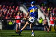 12 May 2019; John McGrath of Tipperary shoots to score his side's second goal during the Munster GAA Hurling Senior Championship Round 1 match between Cork and Tipperary at Pairc Ui Chaoimh in Cork.   Photo by David Fitzgerald/Sportsfile