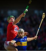 12 May 2019; Seamus Harnedy of Cork in action against Padraic Maher of Tipperary during the Munster GAA Hurling Senior Championship Round 1 match between Cork and Tipperary at Pairc Ui Chaoimh in Cork. Photo by Diarmuid Greene/Sportsfile