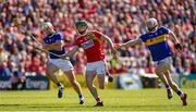 12 May 2019; Seamus Harnedy of Cork in action against Padraic Maher, left, and Michael Breen of Tipperary during the Munster GAA Hurling Senior Championship Round 1 match between Cork and Tipperary at Pairc Ui Chaoimh in Cork. Photo by Diarmuid Greene/Sportsfile