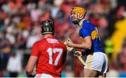 12 May 2019; Séamus Callanan of Tipperary celebrates after scoing a late point during the Munster GAA Hurling Senior Championship Round 1 match between Cork and Tipperary at Pairc Ui Chaoimh in Cork. Photo by David Fitzgerald/Sportsfile