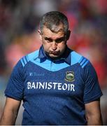 12 May 2019; Tipperary manager Liam Sheedy reacts in the closing stages during the Munster GAA Hurling Senior Championship Round 1 match between Cork and Tipperary at Pairc Ui Chaoimh in Cork.   Photo by David Fitzgerald/Sportsfile