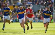 12 May 2019; Darragh Fitzgibbon of Cork in action against Brendan Maher and Willie Connors of Tipperary during the Munster GAA Hurling Senior Championship Round 1 match between Cork and Tipperary at Pairc Ui Chaoimh in Cork. Photo by Diarmuid Greene/Sportsfile