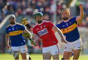 12 May 2019; Seamus Harnedy of Cork in action against Séamus Callanan of Tipperary during the Munster GAA Hurling Senior Championship Round 1 match between Cork and Tipperary at Pairc Ui Chaoimh in Cork. Photo by Diarmuid Greene/Sportsfile