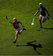 12 May 2019; Patrick Horgan of Cork in action against Seán O'Brien of Tipperary during the Munster GAA Hurling Senior Championship Round 1 match between Cork and Tipperary at Pairc Ui Chaoimh in Cork.   Photo by David Fitzgerald/Sportsfile