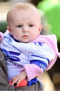 12 May 2019; Fourteen week old Waterford supporter Kiera Morahan from Rathgormack, before the Munster GAA Hurling Senior Championship Round 1 match between Waterford and Clare at Walsh Park in Waterford. Photo by Ray McManus/Sportsfile