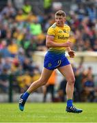 12 May 2019; Conor Cox of Roscommon during the Connacht GAA Football Senior Championship Quarter-Final match between Roscommon and Leitrim at Dr Hyde Park in Roscommon. Photo by Seb Daly/Sportsfile