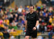 12 May 2019; Referee Sean Hurson during the Connacht GAA Football Senior Championship Quarter-Final match between Roscommon and Leitrim at Dr Hyde Park in Roscommon. Photo by Seb Daly/Sportsfile