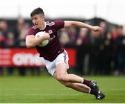 5 May 2019; Johnny Heaney of Galway during the Connacht GAA Football Senior Championship Quarter-Final match between London and Galway at McGovern Park in Ruislip, London, England. Photo by Harry Murphy/Sportsfile