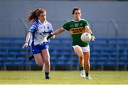 11 May 2019; Sarah Houlihan of Kerry in action against Kate McGrath of Waterford during the TG4  Munster Ladies Football Senior Championship match between Kerry and Waterford at Cusack Park in Ennis, Clare. Photo by Sam Barnes/Sportsfile