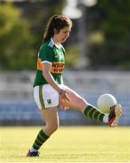 11 May 2019; Fiadhna Tangney of Kerry during the TG4  Munster Ladies Football Senior Championship match between Kerry and Waterford at Cusack Park in Ennis, Clare. Photo by Sam Barnes/Sportsfile
