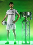 13 May 2019; Donegal and Cill Chartha footballer Ryan McHugh pictured at AIB's launch of the 2019 All Ireland Senior Football Championship. Entering into their fifth season sponsoring the county championship and now in their 28th year sponsoring the club championships, AIB champion the belief that 'Club Fuels County'. For the second year, AIB are bringing back their retro style video game, The Toughest Journey, that brings this belief to life by taking the player from Club to County, embarking on the journey to the All-Ireland Final. For exclusive content and to see why AIB is backing Club and County follow us @AIB_GAA on Twitter, Instagram, Snapchat, Facebook and AIB.ie/GAA and to play the game visit www.thetoughestjourneygame.com. Photo by Ramsey Cardy/Sportsfile