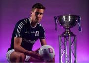 13 May 2019; Galway and Tuam Stars footballer Gary O'Donnell pictured at AIB's launch of the 2019 All Ireland Senior Football Championship. Entering into their fifth season sponsoring the county championship and now in their 28th year sponsoring the club championships, AIB champion the belief that 'Club Fuels County'. For the second year, AIB are bringing back their retro style video game, The Toughest Journey, that brings this belief to life by taking the player from Club to County, embarking on the journey to the All-Ireland Final. For exclusive content and to see why AIB is backing Club and County follow us @AIB_GAA on Twitter, Instagram, Snapchat, Facebook and AIB.ie/GAA and to play the game visit www.thetoughestjourneygame.com. Photo by Ramsey Cardy/Sportsfile