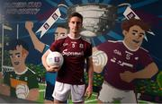 13 May 2019; Galway and Tuam Stars footballer Gary O'Donnell pictured at AIB's launch of the 2019 All Ireland Senior Football Championship. Entering into their fifth season sponsoring the county championship and now in their 28th year sponsoring the club championships, AIB champion the belief that 'Club Fuels County'. For the second year, AIB are bringing back their retro style video game, The Toughest Journey, that brings this belief to life by taking the player from Club to County, embarking on the journey to the All-Ireland Final. For exclusive content and to see why AIB is backing Club and County follow us @AIB_GAA on Twitter, Instagram, Snapchat, Facebook and AIB.ie/GAA and to play the game visit www.thetoughestjourneygame.com. Photo by Stephen McCarthy/Sportsfile