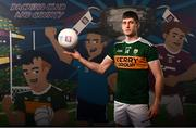 13 May 2019; Kerry and Dingle footballer Paul Geaney pictured at AIB's launch of the 2019 All Ireland Senior Football Championship. Entering into their fifth season sponsoring the county championship and now in their 28th year sponsoring the club championships, AIB champion the belief that 'Club Fuels County'. For the second year, AIB are bringing back their retro style video game, The Toughest Journey, that brings this belief to life by taking the player from Club to County, embarking on the journey to the All-Ireland Final. For exclusive content and to see why AIB is backing Club and County follow us @AIB_GAA on Twitter, Instagram, Snapchat, Facebook and AIB.ie/GAA and to play the game visit www.thetoughestjourneygame.com. Photo by Stephen McCarthy/Sportsfile