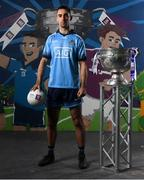 13 May 2019; Dublin and Ballymun Kickhams footballer James McCarthy pictured at AIB's launch of the 2019 All Ireland Senior Football Championship. Entering into their fifth season sponsoring the county championship and now in their 28th year sponsoring the club championships, AIB champion the belief that 'Club Fuels County'. For the second year, AIB are bringing back their retro style video game, The Toughest Journey, that brings this belief to life by taking the player from Club to County, embarking on the journey to the All-Ireland Final. For exclusive content and to see why AIB is backing Club and County follow us @AIB_GAA on Twitter, Instagram, Snapchat, Facebook and AIB.ie/GAA and to play the game visit www.thetoughestjourneygame.com. Photo by Stephen McCarthy/Sportsfile