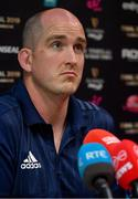 13 May 2019; Devin Toner during a Leinster Rugby Press Conference at Leinster Rugby Headquarters in UCD, Dublin. Photo by Piaras Ó Mídheach/Sportsfile