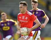 12 May 2019; Andy McDonnell of  Louth during the Leinster GAA Football Senior Championship Round 1 match between Wexford and Louth at Innovate Wexford Park in Wexford.   Photo by Matt Browne/Sportsfile