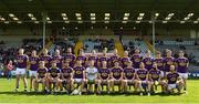 12 May 2019; The Wexford squad before the Leinster GAA Football Senior Championship Round 1 match between Wexford and Louth at Innovate Wexford Park in Wexford.   Photo by Matt Browne/Sportsfile