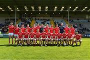12 May 2019; the Louth squad before the Leinster GAA Football Senior Championship Round 1 match between Wexford and Louth at Innovate Wexford Park in Wexford.   Photo by Matt Browne/Sportsfile