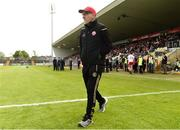 12 May 2019; Tyrone Manager Mickey Harte before the Ulster GAA Football Senior Championship preliminary round match betweenTyrone and Derry at Healy Park, Omagh in Tyrone. Photo by Oliver McVeigh/Sportsfile