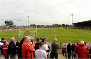 12 May 2019; A general view before the Ulster GAA Football Senior Championship preliminary round match betweenTyrone and Derry at Healy Park, Omagh in Tyrone. Photo by Oliver McVeigh/Sportsfile