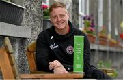 15 May 2019; James Talbot of Bohemians who was presented with his SSE Airtricity/SWAI Player of the Month award for April at St Gabriel's National School in Stoneybatter, Dublin. Photo by Brendan Moran/Sportsfile