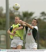 22 October 2003; Shane Ryan and Paul McGrane during a training session in preparation for the Foster's International Rules game between Australia and Ireland, Swan Districts Football Club, Bassendean Oval, Bassendean, Perth, Western Australia. Picture credit; Ray McManus / SPORTSFILE *EDI*