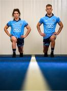 16 May 2019; Dublin stars Niamh Collins and Jonny Cooper were in Parnell Park today to launch AIG's new #EffortIsEqual campaign. #EffortIsEqual recognises that the effort, commitment and dedication amongst male and female players is equal. AIG also announced their new sponsorship which will see AIG become the Official Insurance Partner of the Ladies Gaelic Football Association. Follow AIG Ireland on social & on www.aig.ie to learn more about #EffortIsEqual. Photo by David Fitzgerald/Sportsfile