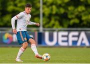 13 May 2019; Javier López Carballo of Spain during the 2019 UEFA European Under-17 Championships Quarter-Final match between Hungary and Spain at UCD Bowl in Dublin. Photo by Ben McShane/Sportsfile