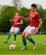 13 May 2019; Botond Balogh of Hungary during the 2019 UEFA European Under-17 Championships Quarter-Final match between Hungary and Spain at UCD Bowl in Dublin. Photo by Ben McShane/Sportsfile