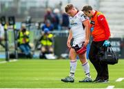 17 May 2019; Eric O'Sullivan of Ulster walks off, injured during the Guinness PRO14 Semi-Final match between Glasgow Warriors and Ulster at Scotstoun Stadium in Glasgow, Scotland. Photo by Ross Parker/Sportsfile