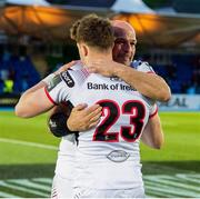 17 May 2019; Rory Best, left, with Darren Cave of Ulster after the Guinness PRO14 Semi-Final match between Glasgow Warriors and Ulster at Scotstoun Stadium in Glasgow, Scotland. Photo by Ross Parker/Sportsfile