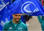 18 May 2019; Conor Murray of Munster arrives ahead of the Guinness PRO14 semi-final match between Leinster and Munster at the RDS Arena in Dublin. Photo by Ramsey Cardy/Sportsfile