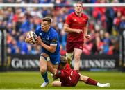 18 May 2019; Garry Ringrose of Leinster is tackled by Mike Haley of Munster during the Guinness PRO14 semi-final match between Leinster and Munster at the RDS Arena in Dublin. Photo by Harry Murphy/Sportsfile