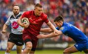 18 May 2019; Andrew Conway of Munster is tackled by Ross Byrne of Leinster during the Guinness PRO14 semi-final match between Leinster and Munster at the RDS Arena in Dublin. Photo by Diarmuid Greene/Sportsfile